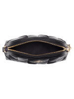 COACH 76675 Patchwork Mini Dome Crossbody Black