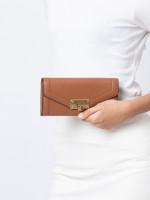 MICHAEL KORS Kinsley Leather Carryall Wallet Luggage