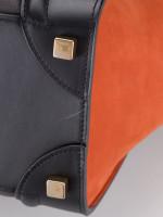 CELINE Tri-Color Mini Luggage Brick