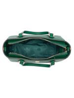 TORY BURCH Emerson Mini Top Zip Tote Emerald Stone