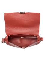FURLA Glenn Small Leather Crossbody Brick