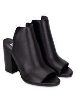 STEVE MADDEN Tilt Mule Heels Black Sz 6