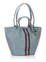 FOSSIL ZB7797197 Callie Leather Tote Chambray