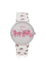 COACH 14503047 Perry Floral Leather White Multi