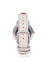 COACH 14503079 Delancey Leather Beige Silver