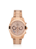 FOSSIL Men ES3885 Perfect Boyfriend Stainless Rose Gold