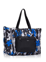 TUMI Denton Nylon Packable Tote Misotro Black