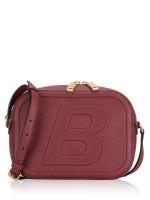 BALLY Tipsy Leather Crossbody Dark Red