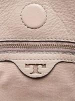 TORY BURCH Gemini Link Leather Crossbody French Gray