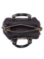 MICHAEL KORS Ginger Monogram Xs Duffle Crossbody Black
