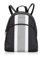 MICHAEL KORS Abbey Signature Medium Backpack Black Multi