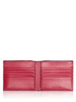MICHAEL KORS Men Cooper Monogram Barcelona Billfold Wallet Black Scarlet
