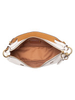 COACH 69507 Sutton Leather Scattered Rivets Hobo Chalk