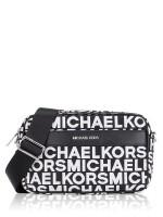 MICHAEL KORS Kenly Monogram Canvas large Pocket Crossbody Black Multi