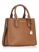 MICHAEL KORS Adele Leather Medium Messenger Luggage