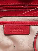 MICHAEL KORS Selma Large Satchel Red