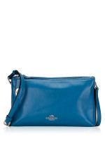 COACH 36552 Smooth Leather Crosby Crossbody Peacock