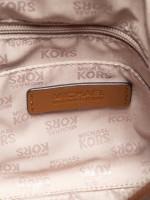 MICHAEL KORS Ellis Stud Saffiano Small Satchel Luggage