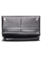 PRADA 1M1132 Saffiano Continental Wallet Black