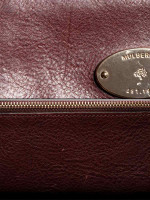 MULBERRY Alexa Leather Continental Wallet Oxblood