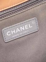 CHANEL Lambskin Antik Boy Flap Bag Beige