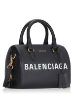 BALENCIAGA Ville Bowling Bag Black