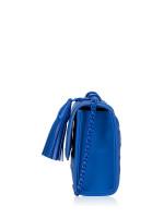 TORY BURCH Fleming Matte Small Convertible Shoulder Bag Mediterranean Blue