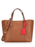 TORY BURCH Perry Small Triple Compartment Tote Light Umber