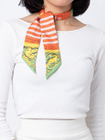 HERMES Twilly Scarf Astrologie Multicolor