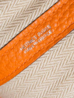 HERMES Negonda 36 MM Garden Party Tote Orange