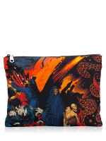 GIVENCHY Printed Nylon Pouch Multicolour