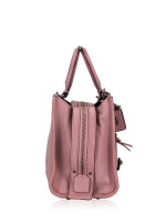 COACH 22797 Quilted and Rivets Leather Rogue 25 Dusty Rose