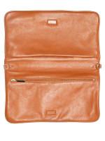 TORY BURCH Bombe Reva Leather Clutch Luggage