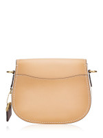COACH 54392 Colorblock Saddle Bag Beechwood Multi