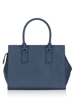 KATE SPADE Cameron Spade Flower Applique Medium Satchel Petrol Blue