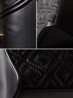 TORY BURCH Fleming Convertible Shoulder Bag Black Multi