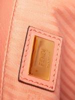 FENDI Vitello Elite Petite 2 Jours Tote Pink