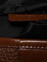 BURBERRY Men Leather Messenger Brown