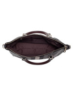 COACH 69646 Horse Carriage Jacquard Prairie Satchel Black