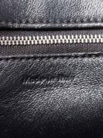 CELINE Grained Leather Medium Edge Black