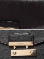 FURLA Julia XL Chain Wallet Black