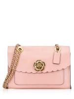 COACH 26733 Parker Tea Rose Turnlock Shoulder Bag Peony