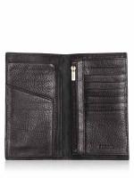 FOSSIL Men SML1398001 Lufkin Slim Executive Wallet Black