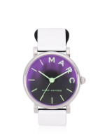 MARC JACOBS MJ1645 Classic Silicon Strap Watch White