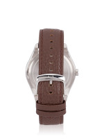 ARMANI EXCHANGE Men AX2804 Leather Strap Watch Brown