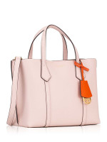 TORY BURCH Perry Small Triple Compartment Tote Shell Pink