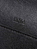 FURLA Bella XL Saffiano Crossbody Black
