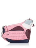 KATE SPADE Love Birds Bird Crossbody Pink Multi