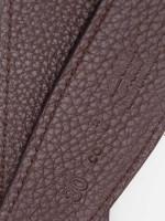 HERMES Box Togo 32mm H Belt Black Brown Sz 80