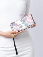 FOSSIL SL7982919 Rfid Logan Zip Wallet Floral
